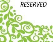 RESERVED FOR A.