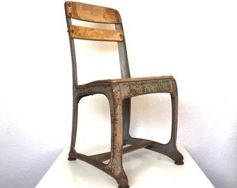 Industrial Schoolhouse Chairs