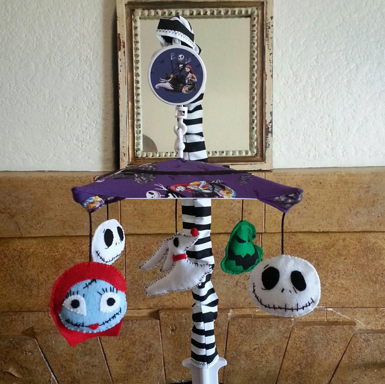 Nightmare Before Christmas Crib Mobile 5 Figures