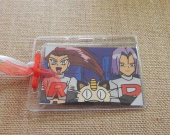 Luggage Bag Tag ID Holder Pokemon