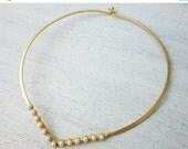 Sale 20% OFF Doris Necklace,bridal wedding necklace, pearl necklace