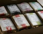 Valentine Soap Sampler Gift Set - Husband Gift, Father Gift