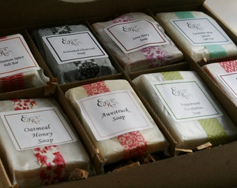 Best Selling Soap Sampler Gift Sets - 4 Gift Sets - Soap Gift, Gift Set