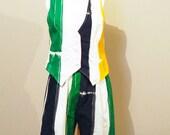 Vintage Vest & Shorts Nautical Stripes