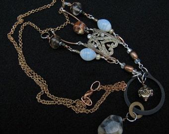 Vintage Meets Hardware Necklace