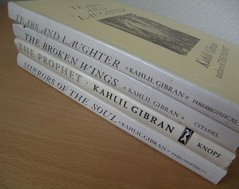 FIVE Books By KAHLIL GIBRAN