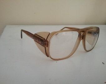 Vintage Lynx Saftey Glasses Aviator Style