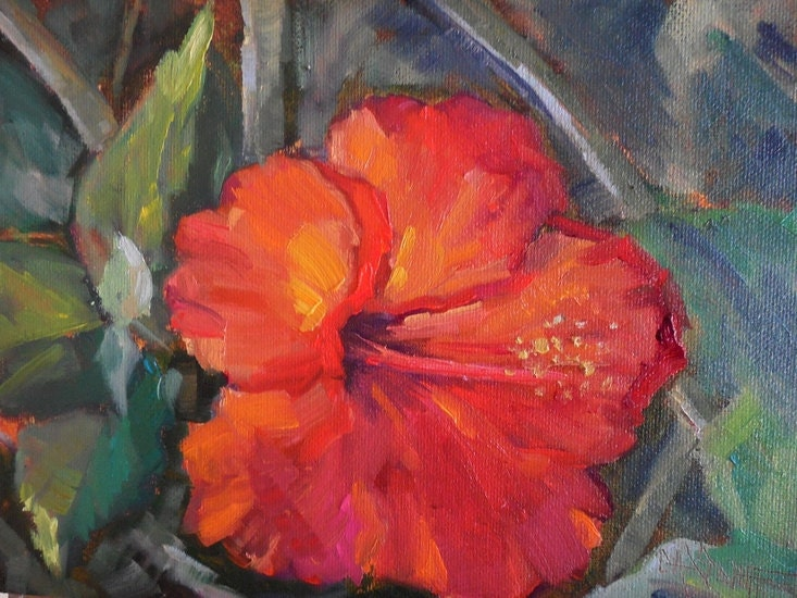 Hibiscus Paintings Images