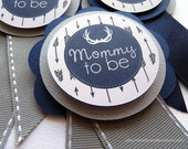 Deer Baby Shower, Mom Pin, Baby Shower, Free Customization