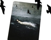 SUMMER SALE - 40% OFF - Come sweet Death - Postcard