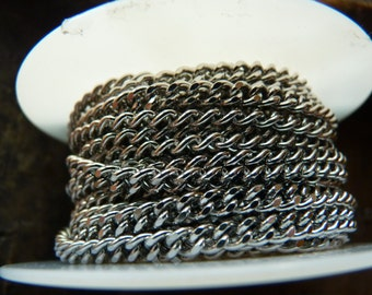 Curb chain by the foot