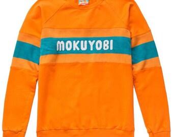 Orange Mokuyobi Sweater