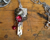 Key to My Heart Valentine Steampunk Necklace