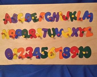 Number & Alphabet Puzzle