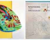 My Bead Embroidered Parrot Fish Tutorial and Kit