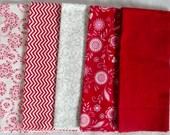 Surrounded by Love Fat Quarter Fabric Bundle - Moda - Destash - Only 1