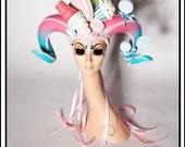 Freak Show…. Candy Themed Headdress with Horns