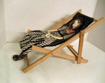The Lady in the Beach Chair