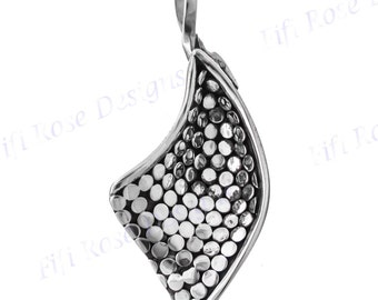 "1 3/4"" Artisan Handcrafted 925 Sterling Silver Pendant"