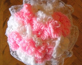 Customize Your Colors Yarn Wedding Flower Bouquets