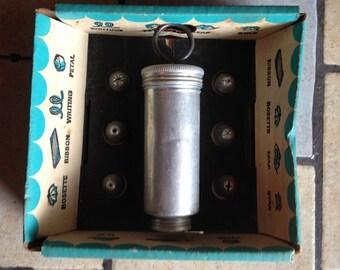 Antique Aluminum Cake Decorator by Mirro in the Original Box