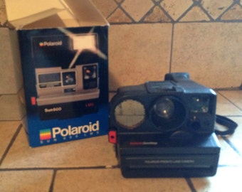 1986 Sun 600 Pronto Land Camera by Polaroid in the Original Box