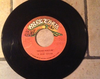Indiana Wants Me/Love's Your Name by R. Dean Taylor Record by Rare Earth Records