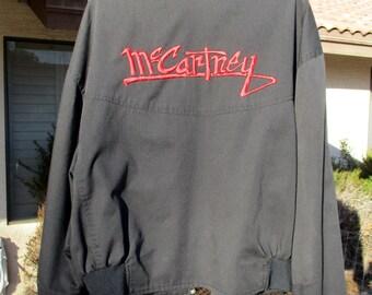 Vintage PAUL MCCARTNEY New World Tour 1993 XL Jacket