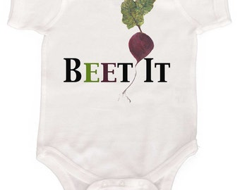 Funny Baby One Piece Natural Bodysuit Gender Neutral Baby Bodysuit by Mumsy Goose NewBorn Baby Bodysuits Vegetable Baby Shirt