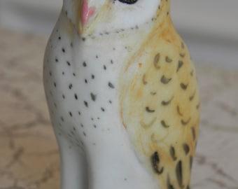 porcelain barn owl