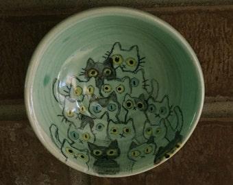 Cat Hoard Hanging Bowl Dish