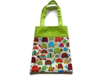 Turtle Gift Bag - Goodie Bag - Mini Tote