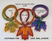 eTUTORIAL for Fall Flame Leaf, Bail and Rope