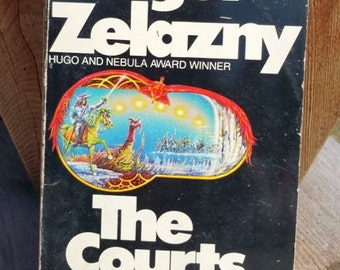 The Courts Of Chaos by Roger Zelazny Vintage Paperback Book