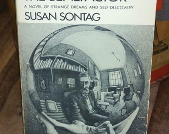 The Benefactor by Susan Sontag Vintage Paperback Books