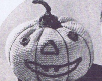 Pumpkin Pincushion PATTERN 9023 in Crochet this will make a 3 1/4 inch pincushion the pattern is in Pdf format an instant download