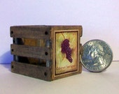 Mini Cabernet Sauvignon Wine Crate  1:12 scale