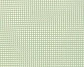 Moda Fabric - Strawberry Fields Revisited -  Soft Green Gingham Plaid - 20263 15 Yardage