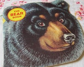 The Bear Book a Vintage 1965 Golden Shape Book with Sweet Illustrations