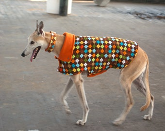 Argyle: Dog Jacket, Dog Jackets, Dog Fleece, Corduroy Dog Jacket