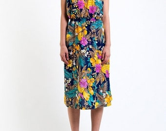 35% OFF SUMMER SALE The Strapless Hawaiian Summer Dress