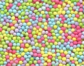 Tiny Pastel NonPareils Sprinkles for Cupcakes or Cookies (4 ounces)