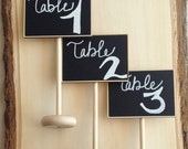 On SALE- 8 Mini Table Chalkboard Stands, Place Settings, Wedding Chalkboards, Buffet Labels, SEEN in BRIDES Magazine