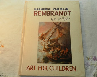 REMBRANDT art book for children