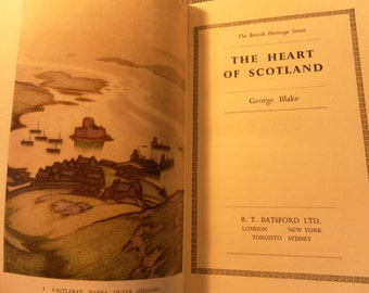 The Heart of Scotland by George Blake vintage 1951