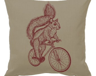 Fox On A Bike White Rug Bath Mat Or Door Mat By
