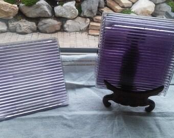 5 Very Old Sun-purple - Turn-of-the-Century Window Tiles