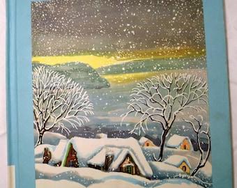 The Big Snow Book By Berta & Elmer Hader 1948 Vintage Storybook Educational Homeschool Retro Story (Box i)