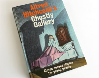 Vintage Alfred Hitchcock's Ghostly Gallery Book Spooky Stories Halloween