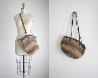 sisal shoulder bag